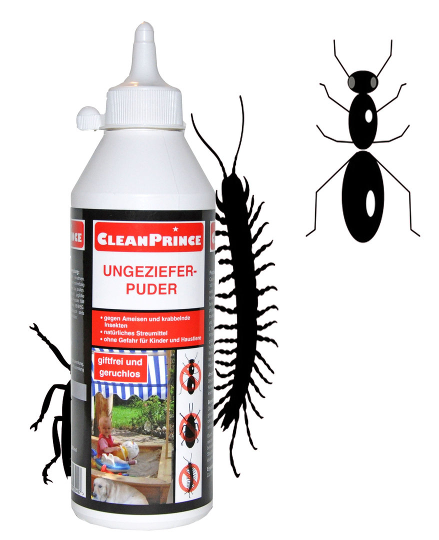 Ungeziefer-Puder 500 ml